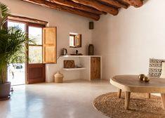 Ibiza farmhouse hotels that combine rural living with contemporary design Wabi Sabi, Hotel Ibiza, High Walls, Old Farm Houses, Interior Design Studio, Design Hotel, Salon Design, Contemporary Design, House Design