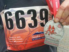 Review of the Goodlife Fitness Marathon, Victoria, BC, on www.MetaphoricalPlatypus.com #goodlifefitnessmarathon #marathon #race #running