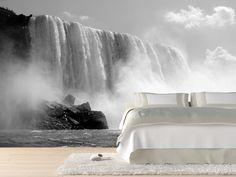 Eazywallz  - Splashes of the Niagara falls, Canada Wall Mural, $130.54 (http://www.eazywallz.com/splashes-of-the-niagara-falls-canada-wall-mural/)