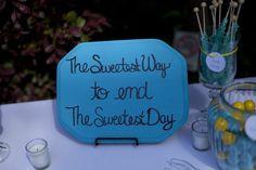 Candy bar sign (=