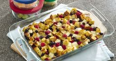 Berry French Toast Casserole - you'll love how easily this make-ahead breakfast comes together. Assemble it the night before and pop it in the oven the next morning. It's so berry good.