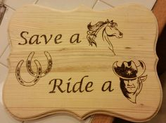 Made this plaque for my co-worker who loves her cowboys