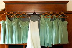 51 Reasons To Crave A Mint Themed Wedding!! for people who love Mint like I do :)