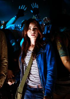 Lily Collins as Clary Fray in,,The Mortal Instruments: City of Clary Y Jace, Clary Fray, Lily Collins Peliculas, Malec, Mortal Instruments Movie, Serie Got, City Of Ashes, Shadowhunters, Jamie Campbell Bower