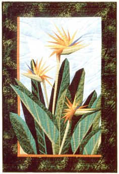 paradise in bloom judy niemeyer | Color the World – quilting for beginners – Bird of Paradise