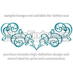 Turquoise Tribal  tattoo design by Gail Somers