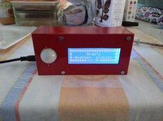 diy Arduino weather station.