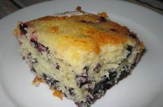 Blueberry And Lemon Coffee Cake