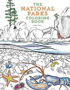 Coloring Books for Seniors: Including Books for Dementia and Alzheimers - The National Parks Coloring Book