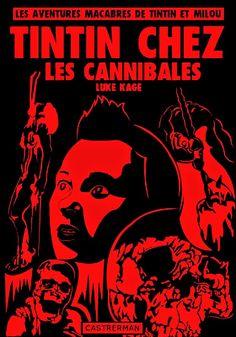 Les Aventures de Tintin - Album Imaginaire - Tintin chez les Cannibales