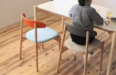 Bokuno is a chair created by Japan-based designer Yu Matsuda. The designer wanted to create a color-customizable chair that could be personalized to an individuals tastes and preferences.