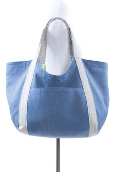 Poolside Tote sewing pattern by Noodlehead - $9.00 | Indiesew.com