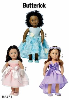 18 inch Doll Clothes Pattern 18 inch Doll Special by blue510