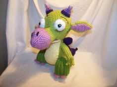 Hey, I found this really awesome Etsy listing at https://www.etsy.com/listing/234618068/crochet-draco-dragon