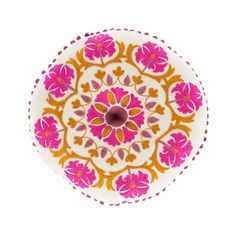 Azalea Round Pillow in Pink