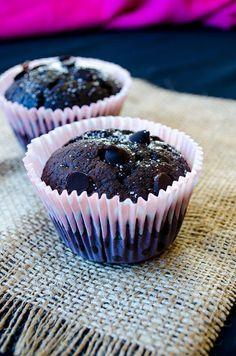 My Best Chocolate Muffins   giverecipe.com   #muffins #chocolate #chocolatechips #chocolatemuffins