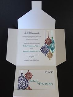Parfait Prints: New Moroccan Theme Invitations