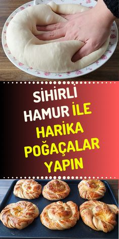 Bu hamur ile her türlü poğaçanızı yapabilirsiniz. - Hamur işi TarifleriIf you like making pastry, we recommend you a pastry dough. In addition, the recipe for strip pastry made with this dough is also in our article. Turkish Recipes, Sweet Cakes, Cupcake Cookies, Delicious Desserts, Good Food, Food And Drink, Tasty, Favorite Recipes, Cooking