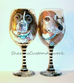 painted portraits of pets