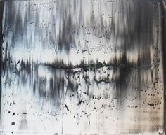 """Harry Moody; Oil, 2012, Painting """"abstract grey zone # 1"""""""
