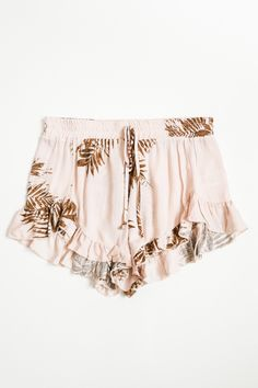 Tropical Shorts // www.shoplovestreet.com