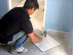 Pedreiro inventa máquina para colocar argamassa em pisos e azulejos