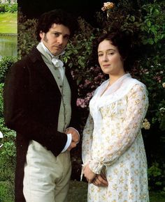 Jennifer Ehle and Colin Firth as Elizabeth Bennet and Fitzwilliam Darcy   Pride and Prejudice (1995)