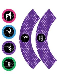 Gymnastics Party FavorsDIY Printable Gymnastics by lilrocknparty, $5.00