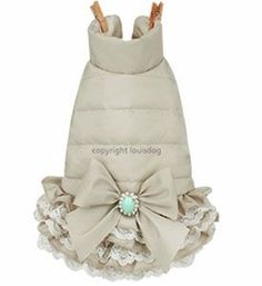 Designer Dog Clothes- Louis Dog Padded Pants Beige Or Blue - Tap the pin for the most adorable pawtastic fur baby apparel! You'll love the dog clothes and cat clothes! <3