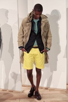 buy your yellow shorts now // jcrew ss2013