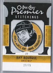 Ray Bourque, Hockey Cards, Nhl, Stitch, Full Stop, Sew, Stitches, Embroidery
