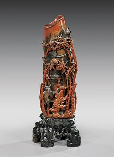 Buy online, view images and see past prices for CHINESE CARVED SOAPSTONE VESSEL. Invaluable is the world's largest marketplace for art, antiques, and collectibles. Chinese Kunst, Chinese Art, China, Soapstone, Rocks And Minerals, Archaeology, Metal Working, Sage, Warriors