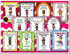 ALL Busy Teacher's Best Friend's Units by Queen of the First Grade Jungle - prize for one lucky winner!