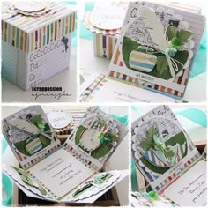 Exploding Boxes, Scrapbooking, How To Make, Crafts, Inspiration, Bag, Biblical Inspiration, Manualidades, Handmade Crafts