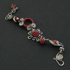 I LOVE this bracelet by Iza Malczyk!