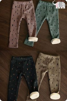 Rain Drops Winter Leggings