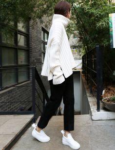 Le parfait look noir et blanc #59