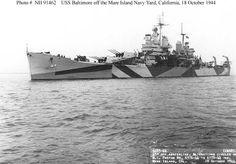 Baltimore Class Heavy Cruiser