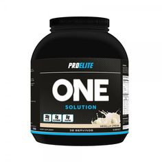 Pro Elite Lean Mass Gainer is specially designed to help support a gain in lean muscle. It is a high quality blend of pre-digested, slow release and rapidly absorbed proteins with high quality, low glycaemic carbohydrates. One Solution is designed, not on