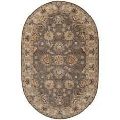 Surya Caesar Hand-Tufted Charcoal Area Rug Rug Size: