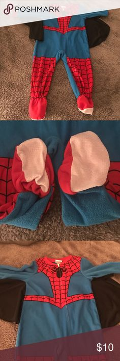 Spider-Man PJs. Brand New. My son ripped the tags off and attempted to put it on however it's a 2T and he's 5! Lol Marvel Pajamas