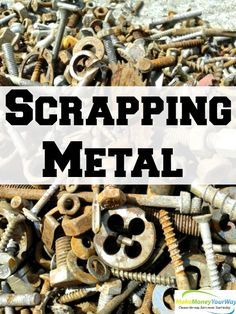 Scrapping metal is something that many people might think is not worth their time, I was one of them.