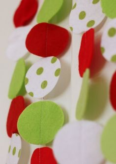 Make a Holiday Felt Garland Chicago, Illinois  #Kids #Events