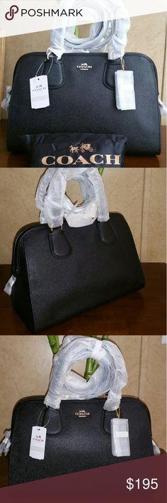 coach satchel bag outlet uun8  Coach crossgrain Leather Cross body sachel NWT