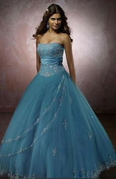 Fairytale Floor Length Tulle Princess Lace up Sleeveless Sweet 16 Dress - US$209.99 - ninedresses.com