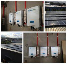 Location:Australia Power Output: 22.4 kW 4 Trannergy PVI5400TL; Monitoring System: Pvoutput;