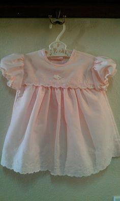 Pink vintage baby dress