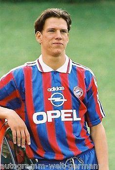 Christian Ziege Bayern München 1995-96 seltenes Foto