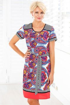 Women's Clothing Online - Capture Printed Dress
