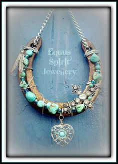 Nice,  Horse shoe, with turquoise